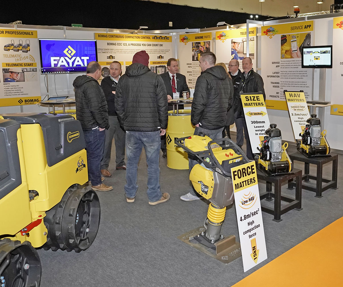 BOMAG HAS A BUSY EHS – NEW WAVE MARKETING